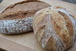 Sour Dough Loaves from Seven Hills Bakery