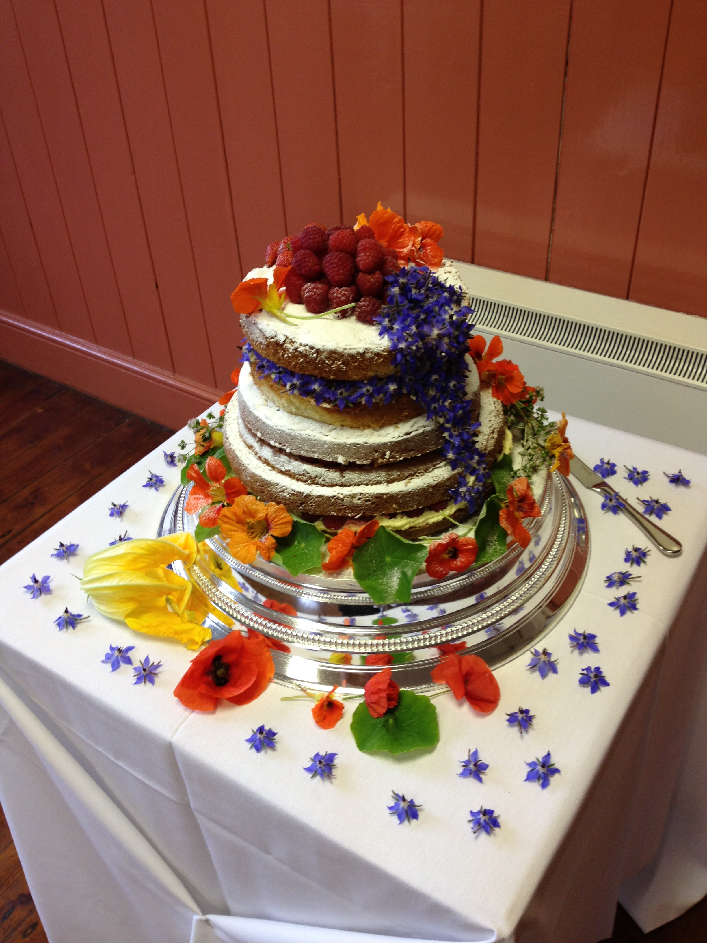 Wild and edible flowers   tamed for the table PJ taste